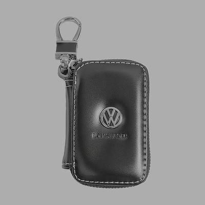 Ключница Carss с логотипом WOLKSVAGEN 04011 черная