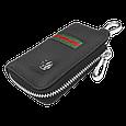 Ключница Carss с логотипом VOLKSWAGEN 04012 многофункциональная черная, фото 4