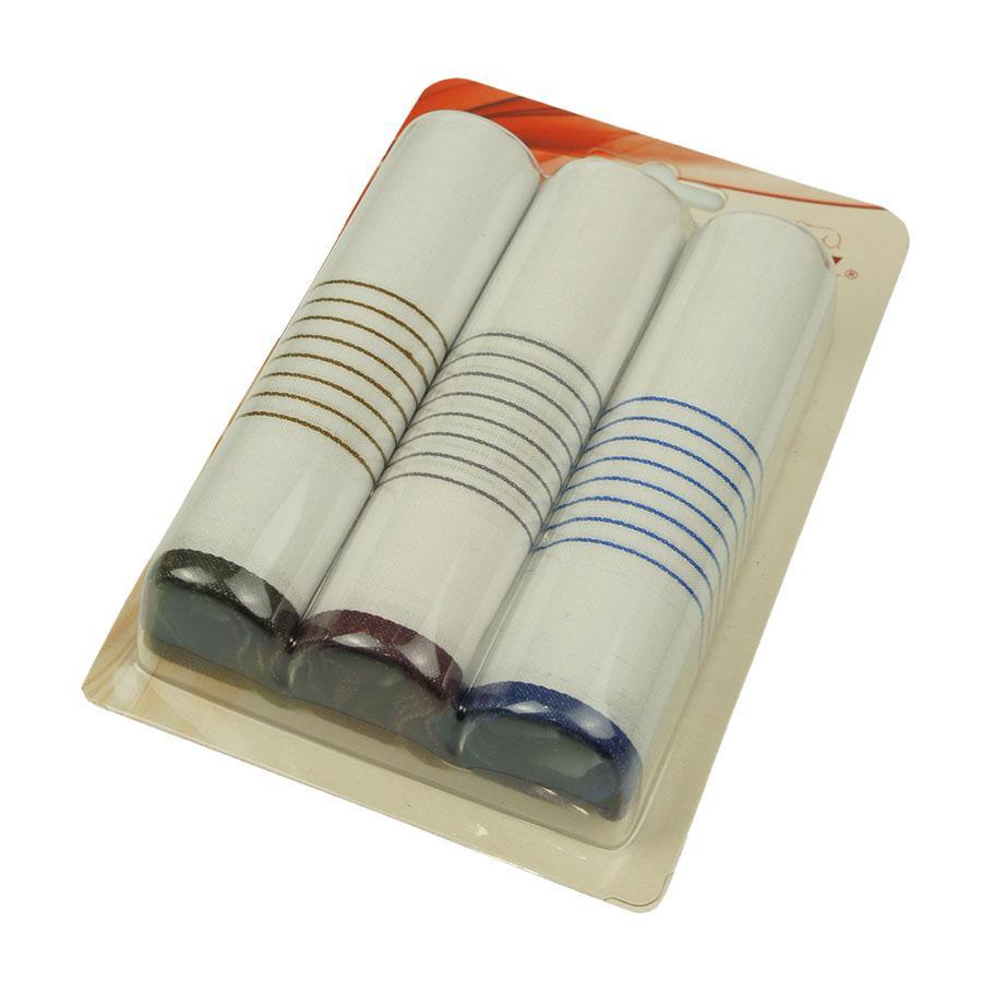 Подарунковий набір носових хусток Ega 3 шт CH-550С