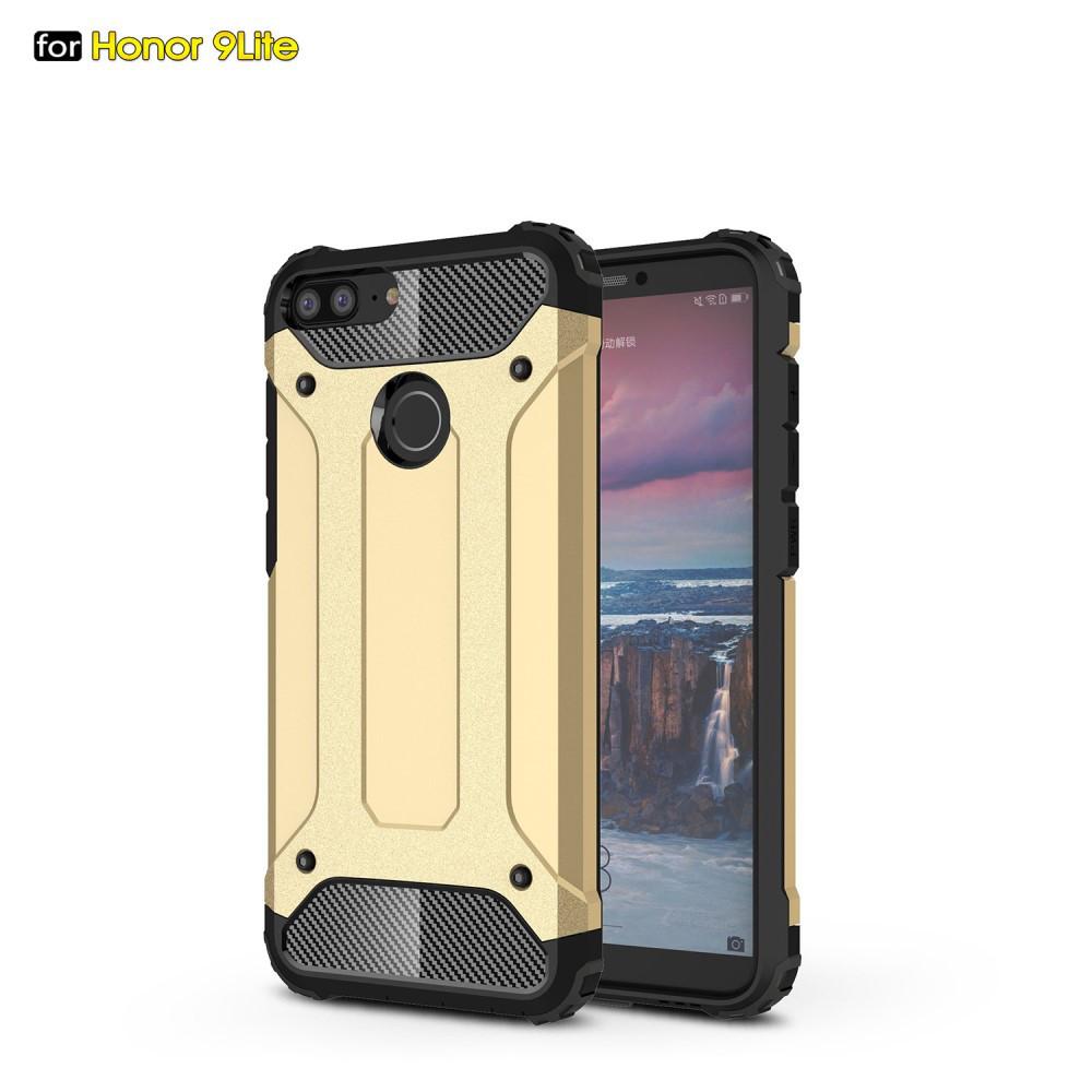 Чохол накладка для Huawei Honor 9 Lite протиударний, Spider, золотистий