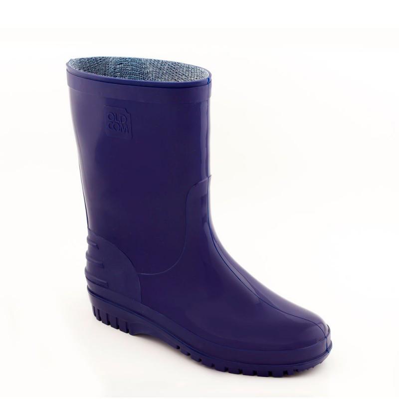 Резиновые сапоги короткие CLASSIC Синие