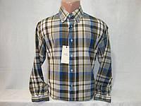Мужская рубашка с длинным рукавом в клетку Mango, фото 1
