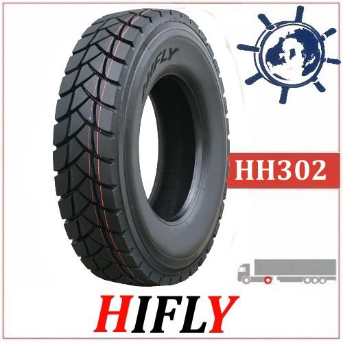 Hifly HH302 карьерная шина 13R22.5 156/152G, грузовые шины на ведущую ось самосвала, усиленные шины