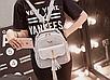 Женская сумка мини рюкзак Brush c бантиком, фото 2