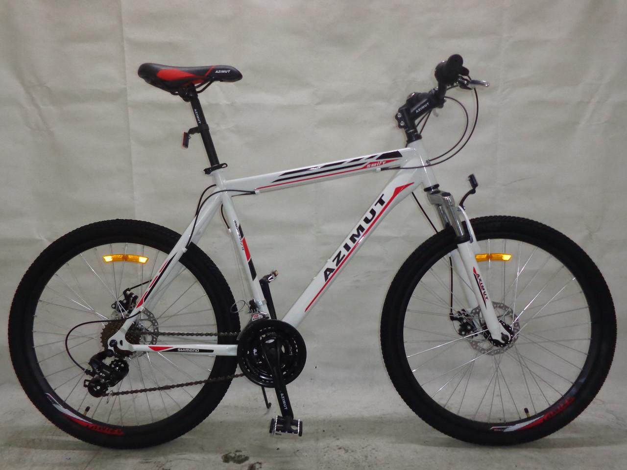 Спортивный велосипед 26 дюймов Azimut Swift  217-G-1(оборудование SHIM