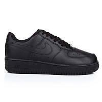 Кроссовки мужские Nike Air Force код товара U-0588. Черные