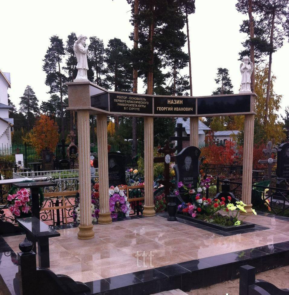 Мемориальный комплекс с колоннами и ангелами №23