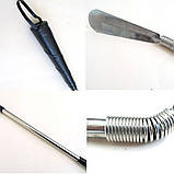 Ложка для обуви металлическая длинная, фото 4