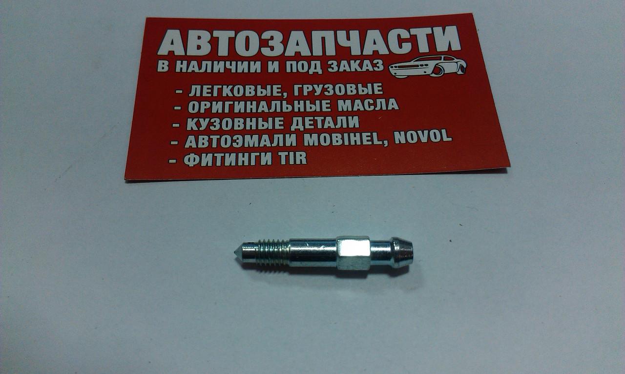 Штуцер прокачки тормозов М6х1.7-38 QB0013