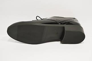 Лакированные черные туфли Kento 20645, фото 2
