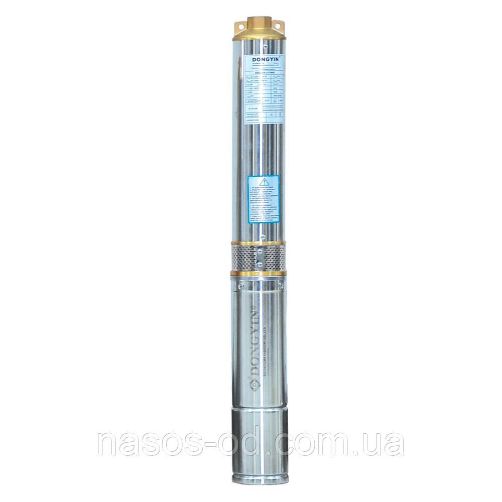 Насос центробежный глубинный Dongyin (Aquatica) для скважин 0.9кВт Hmax143м Qmax45л/мин Ø80мм (кабель 2.2м)