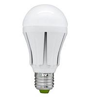 Лампа LED A60 10W 220V 4100K E27 матовая
