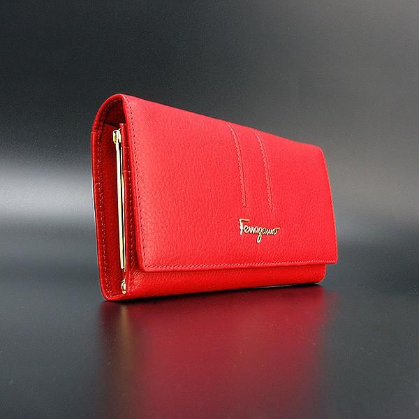 47d5f321360e Женский кошелек Salvatore Ferragamo кожаный - Интернет магазин сумок SUMKOFF  - женские и мужские сумки,