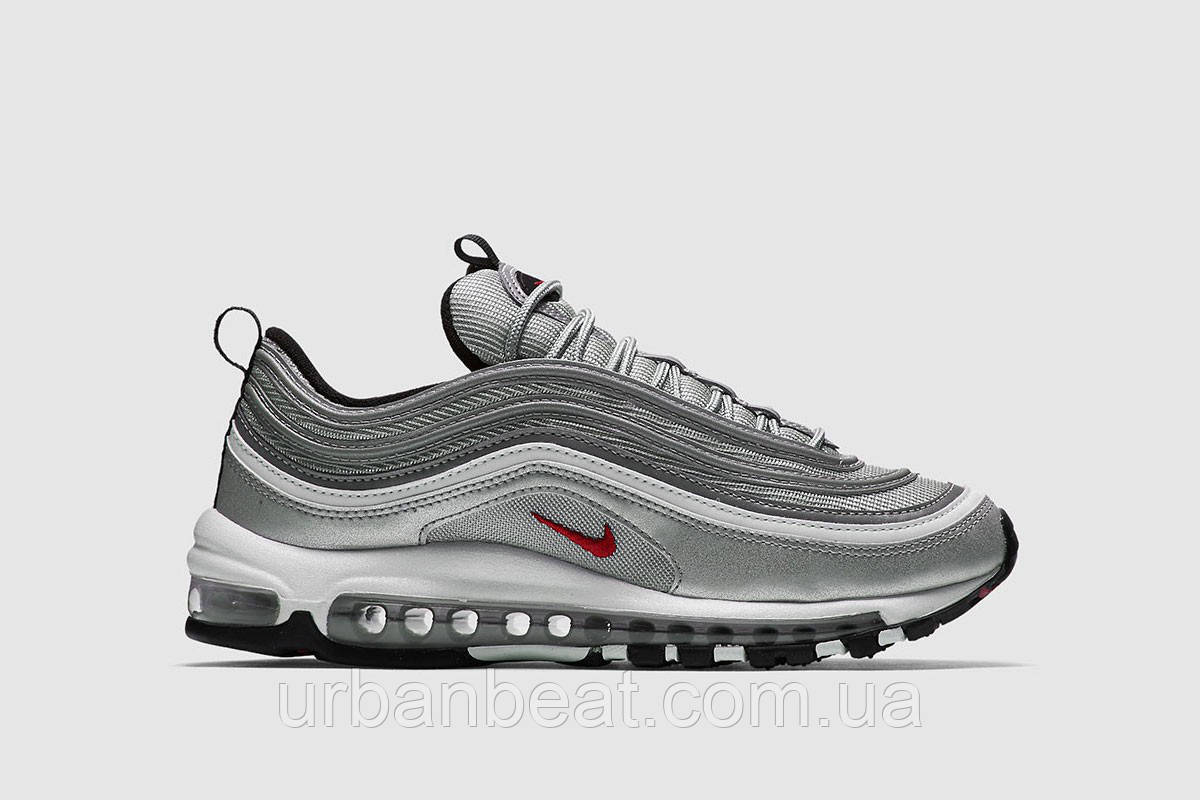 Мужские кроссовки Nike Air Max 97 Silver Bullet Реплика  продажа ... 9f009cece3e