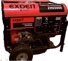 INTERTOOL Электрогенератор Expert ZH6500E 5 кВт, 25 л, 78.5 кг, 20310424