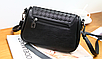 Женская сумка кросс боди с плетением Crown, фото 8