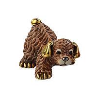 Статуэтка De Rosa Rinconada Families Zodiac Щенок коричневый