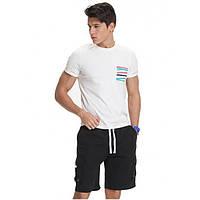 Мужские черные шорты Gailang - №2567, Цвет черный, Размер M