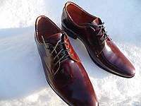 Классические мужские туфли из лаковой кожи