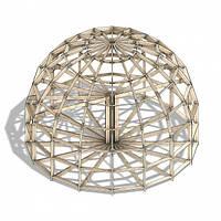 Купольный дом каркас Добросфера Z8H 2 ЭТАЖА, S общ = 90 м2, фото 1