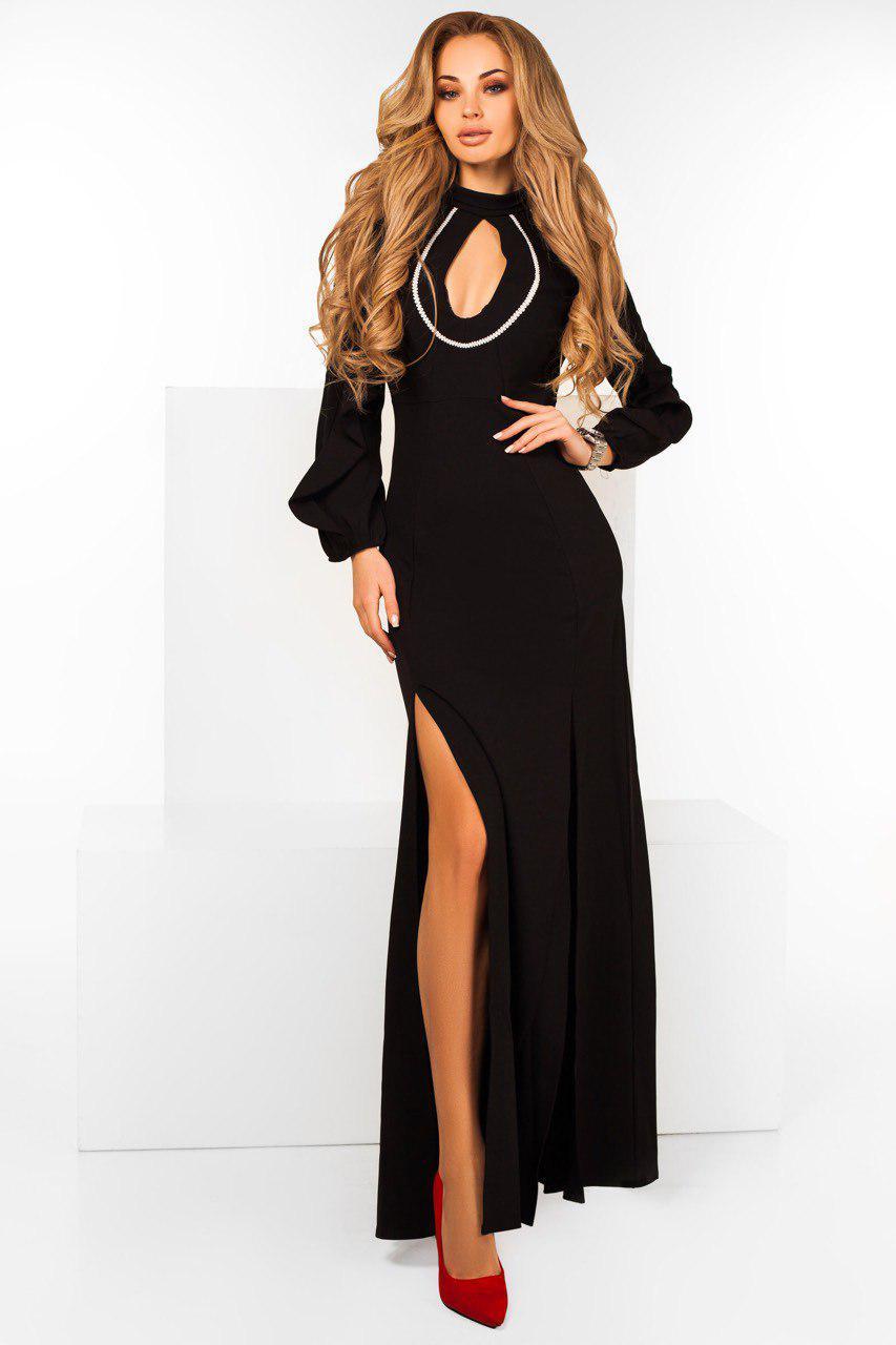 b7449e63a7d Роскошное вечернее платье в пол