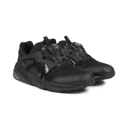 Мужские кроссовки Puma Trin Disk Blaze Black Черные, фото 2