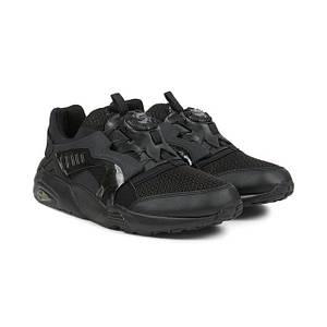 Мужские кроссовки Puma Trin Disk Blaze Black Черные