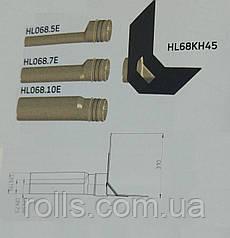 Парапетная воронка HL68H45.0  с клином, фартуком из полимербитумного материала и отводящей трубой из ПП