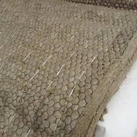 Мат прошивной теплоизоляционный с обкладкой из металлической сетки