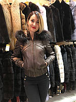 Куртка Кожаная Размеры 44-50 код 063КЖ