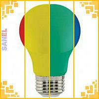 Лампа светодиодная цветная Horoz Electric