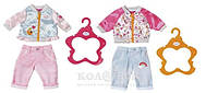 Набор одежды для куклы Baby Born Спортивный Кэжуал  (2 в ассорт.)