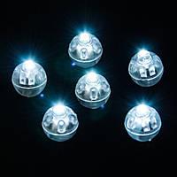 Светодиоды для шаров белые (14мм)