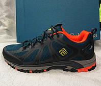 Мужские кроссовки Columbia Peakfreak Xcrsn (Waterproof) синие с оранжевым, фото 1