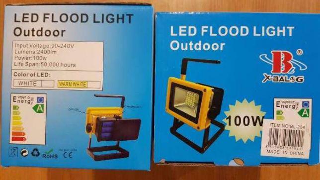 Аккумуляторный светодиодный прожектор 203