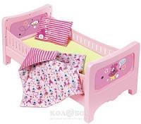 Кроватка для куклы Baby Born Сладкие сны (с постельным набором)