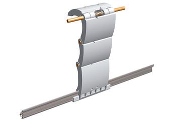 Ригель блокирующий для роллеты Alutech артикул RGM3