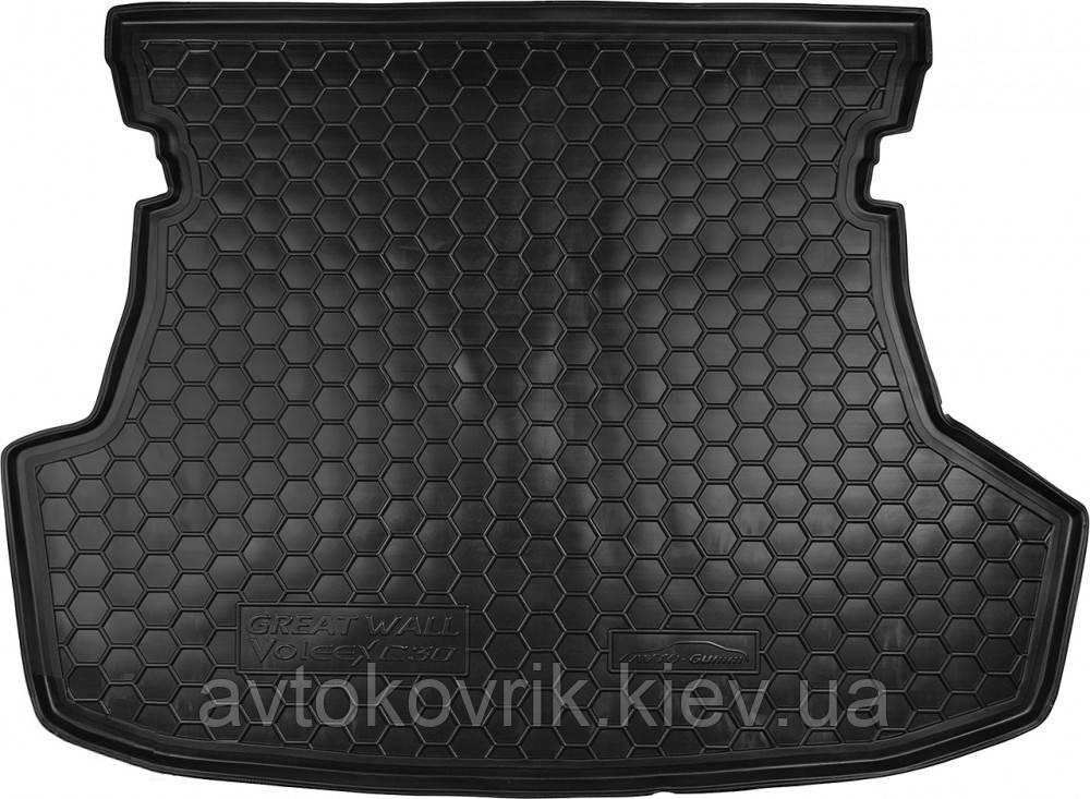 Полиуретановый коврик в багажник Great Wall Voleеx C30 2011- (AVTO-GUMM)
