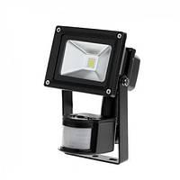 Прожектор LED 10W с датчиком движения и сумерек 6400К