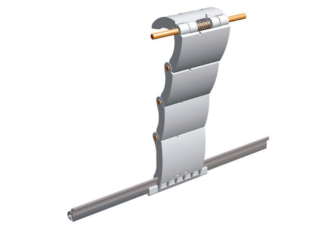 Ригель блокирующий для роллеты Alutech артикул RG4