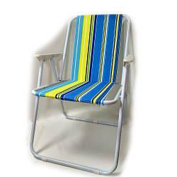 Раскладное кресло для пикника и рыбалки Спартак E05088 Радуга