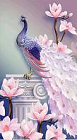 Алмазная мозаика Грациозная птица KLN 44 х 24 см (арт. PR727) частичная выкладка