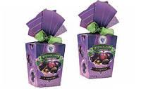 """Шоколадные наборы конфет """"Чорнослив з горіхом з бантиком"""" (250г)"""