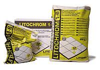 Затирка на цементній основі Litochrom C10 сірий, Літокол 25 кг, фото 1
