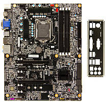 Материнская плата ECS Z170H4-EA (s1151/Z170/HDMI/DVI-D/7xPCI-E/SATA III/OEM)