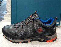 Мужские кроссовки Columbia Peakfreak Xcrsn (Waterproof) серые с черным