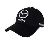 Кепка с автомобильным логотипом Mazda - №3693, Цвет черный