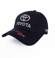 Кепка с логотипом авто Тойота - №3695, Цвет синий