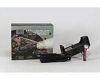 Фонарик ручной Police BL 8468 99000W, с аккумулятором, пластик, черный, 1 режим MAX, фонарь BL 8468