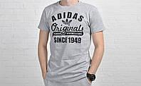 Мужская футболка Adidas Original серая